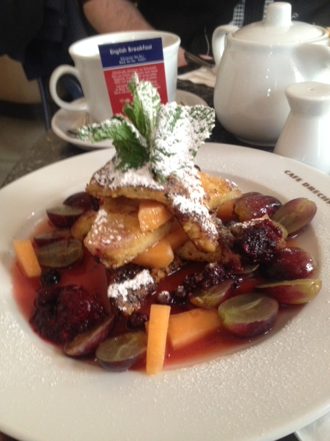 My delicious french toast!