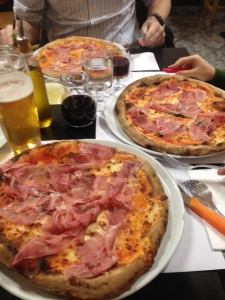 Our delicious pizzas at Pizza Mari