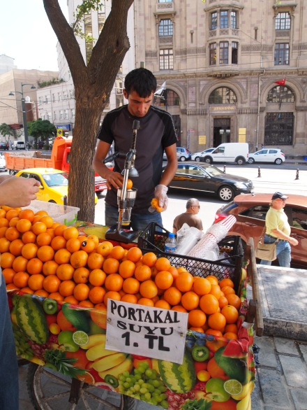 Fresh-squeezed orange juice