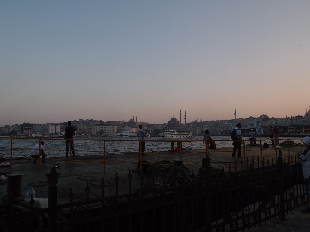 Looking across the Golden Horn