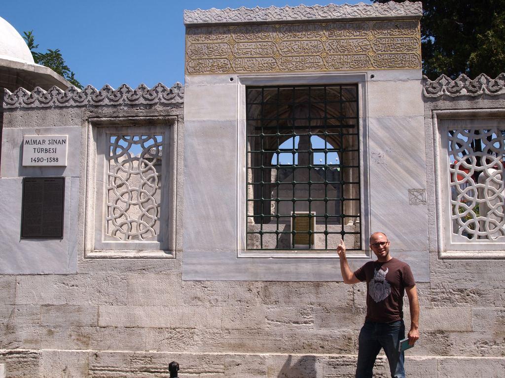 Mimar Sinan's tomb