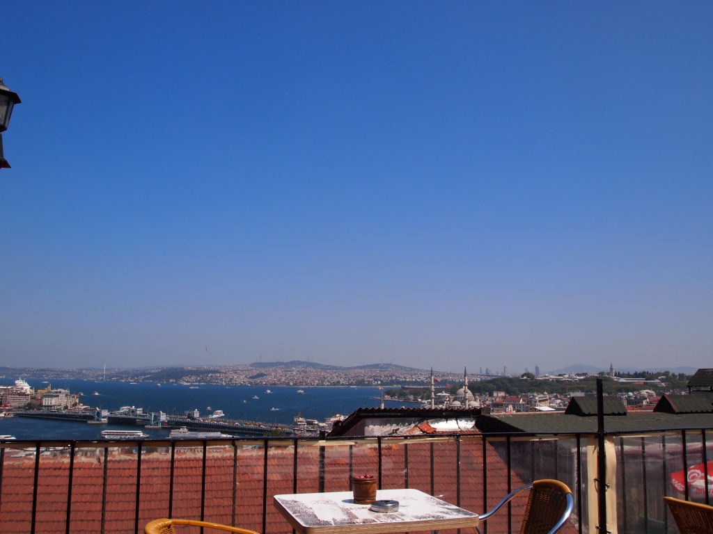 The view from Mimar Sinan Teras Cafe