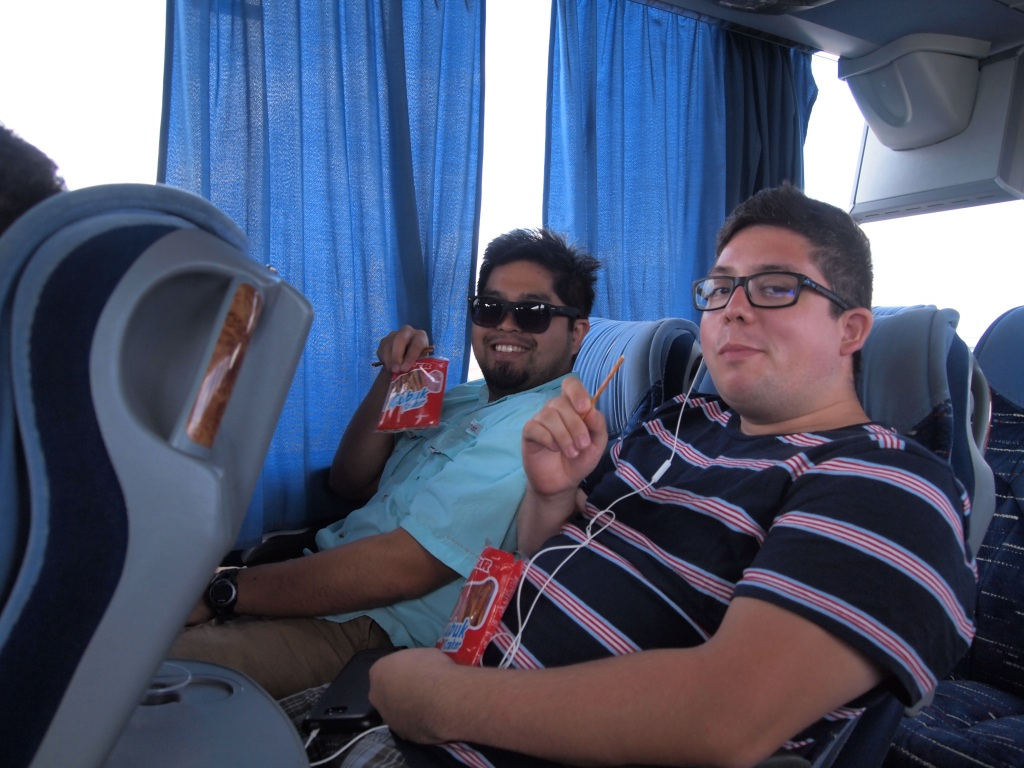 On the bus to Amasra