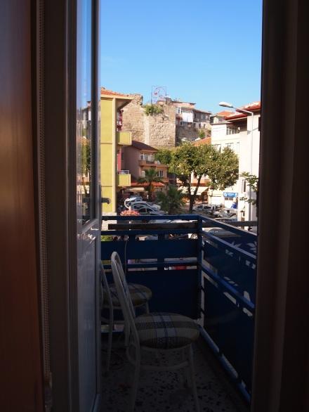 Our tiny balcony