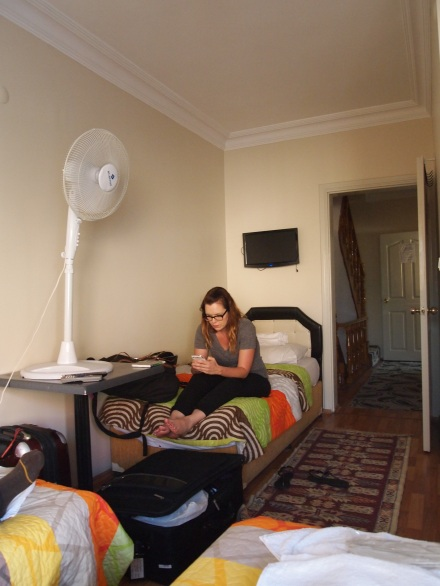 Me, Zach, & Jenny's room