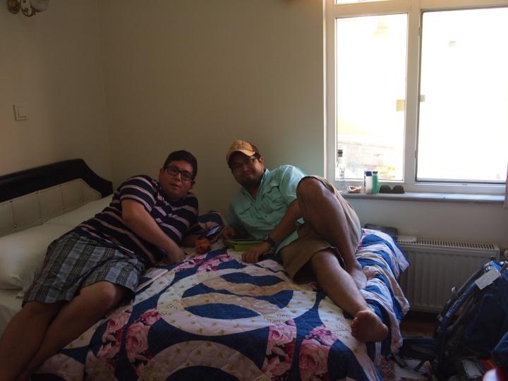 Tim & Rudy's room