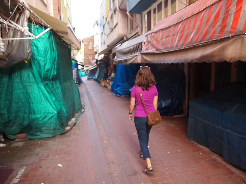 Even the bazaar was closed