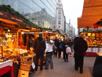 Christmas Market at Vörösmarty Sq.