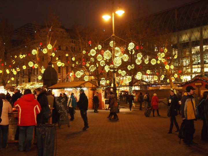 Back at the Christmas Market