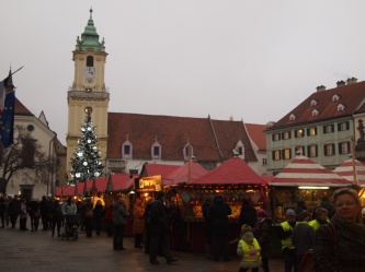 Town Hall & Christmas Market