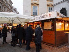 There are punsch stands all over the city