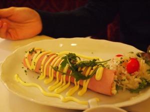 Ham roll!