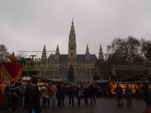 Wiener Christkindlmarkt at Rathausplatz