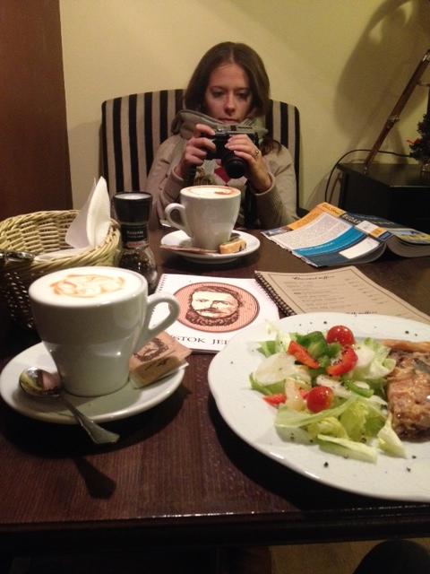 Warming up at Štúr Cafe