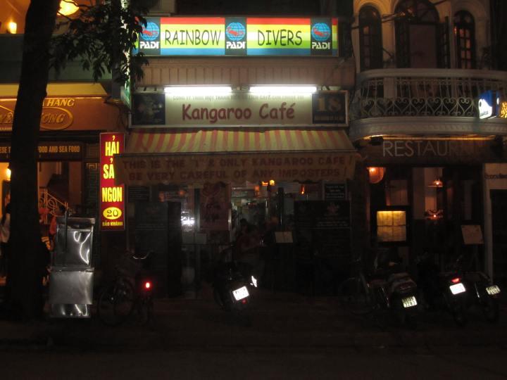 The Real Kangaroo Cafe