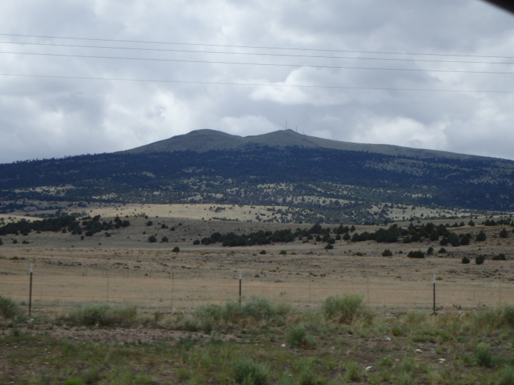 Sierra Grande - an extinct shield volcano