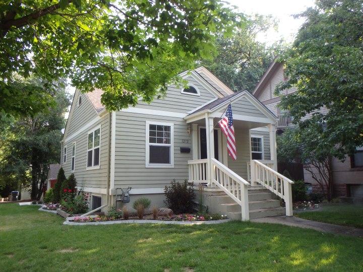 Shawn's cute house