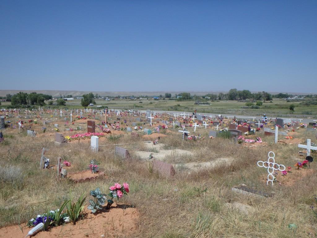 We took a small detour to Sacajawea's grave