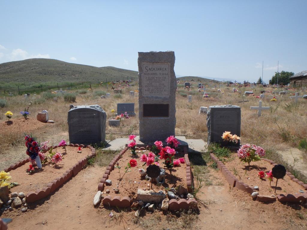 Sacajawea's grave