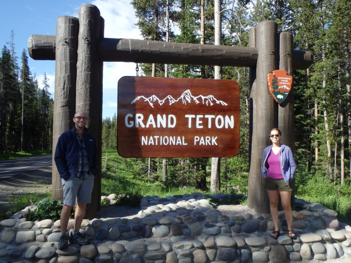 Leaving Grand Teton