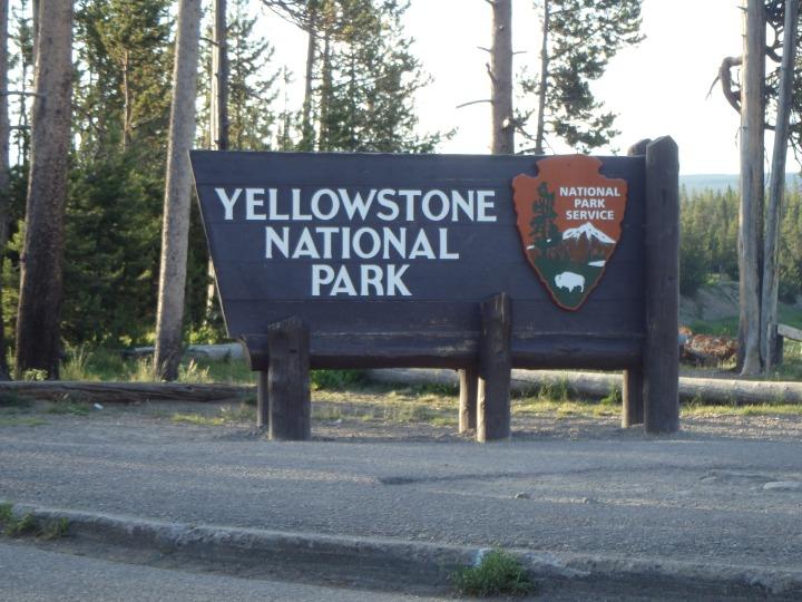 South entrance f Yellowstone