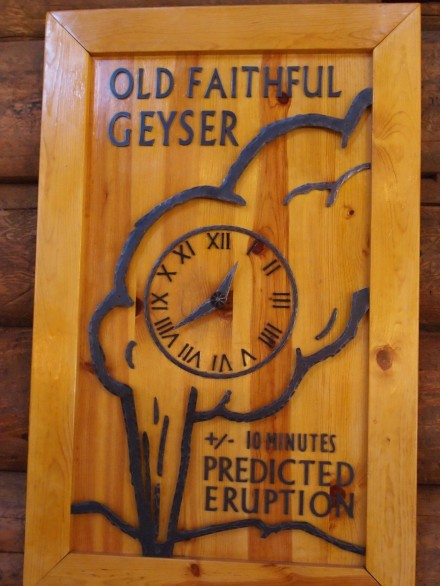 Old Faithful Predicted Eruption