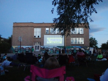 Movie in the park!