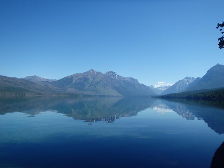 "Lake McDonald - the Kootenai tribe called it ""Sacred Dancing"""