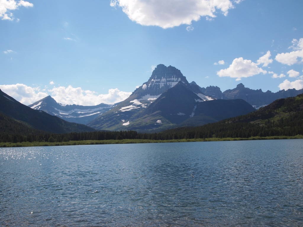 Mt. Gloud & Swiftcurrent Lake