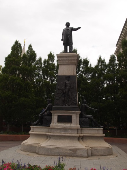 Statue of Brigham Young