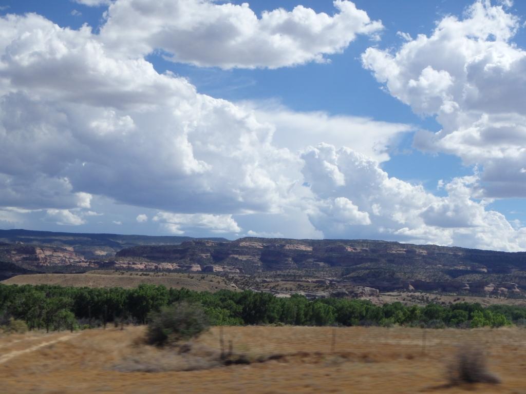 Driving through Colorado