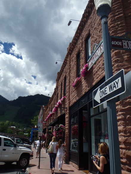 Walking around Aspen