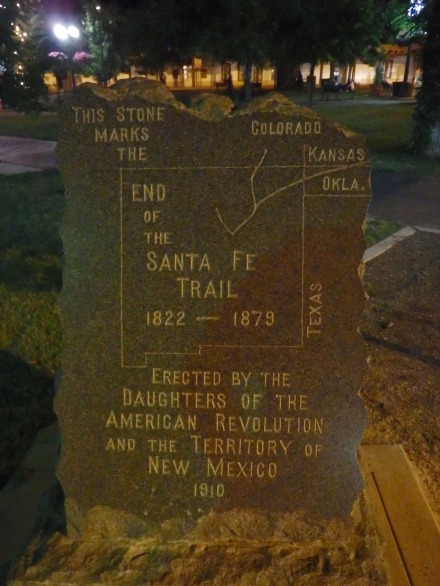 The end of the Santa Fe Trail