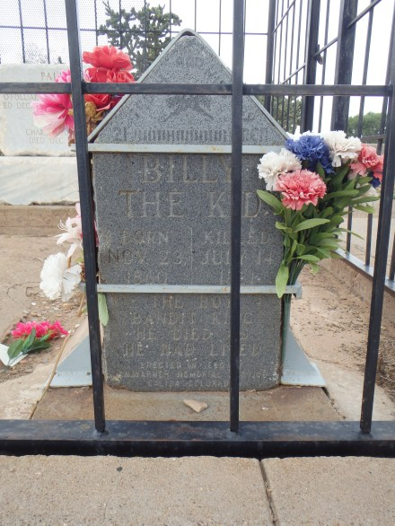 His headstone has been shackled to prevent more thefts