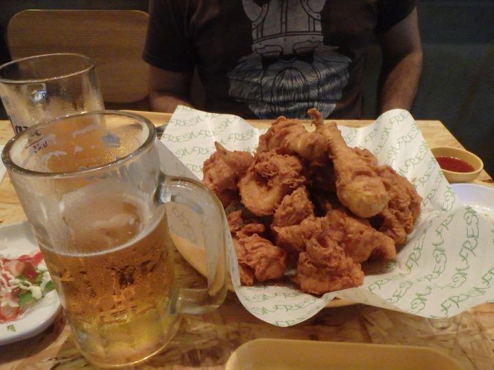 Korean fried chicken!!
