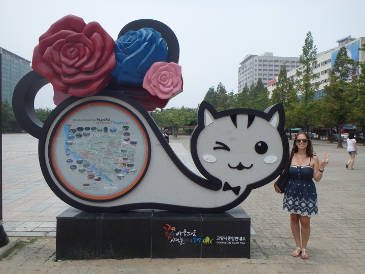 Goyang - the city of people more beautiful than flowers