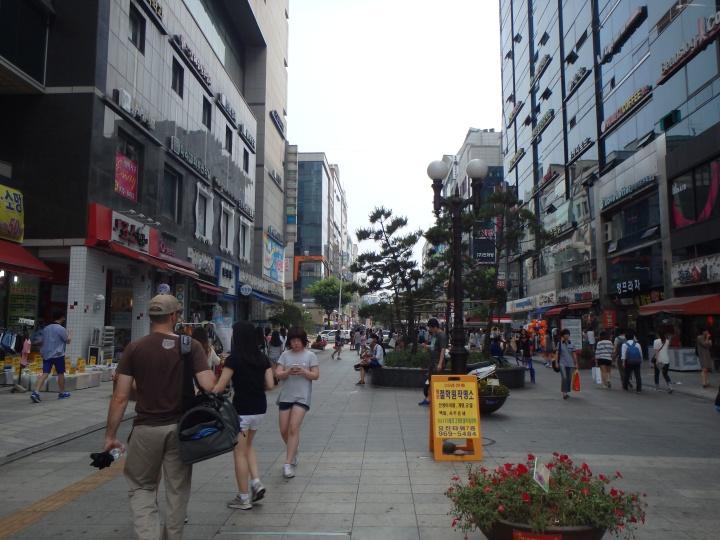 The popular pedestrian boulevard in our neighborhood - Rodeo