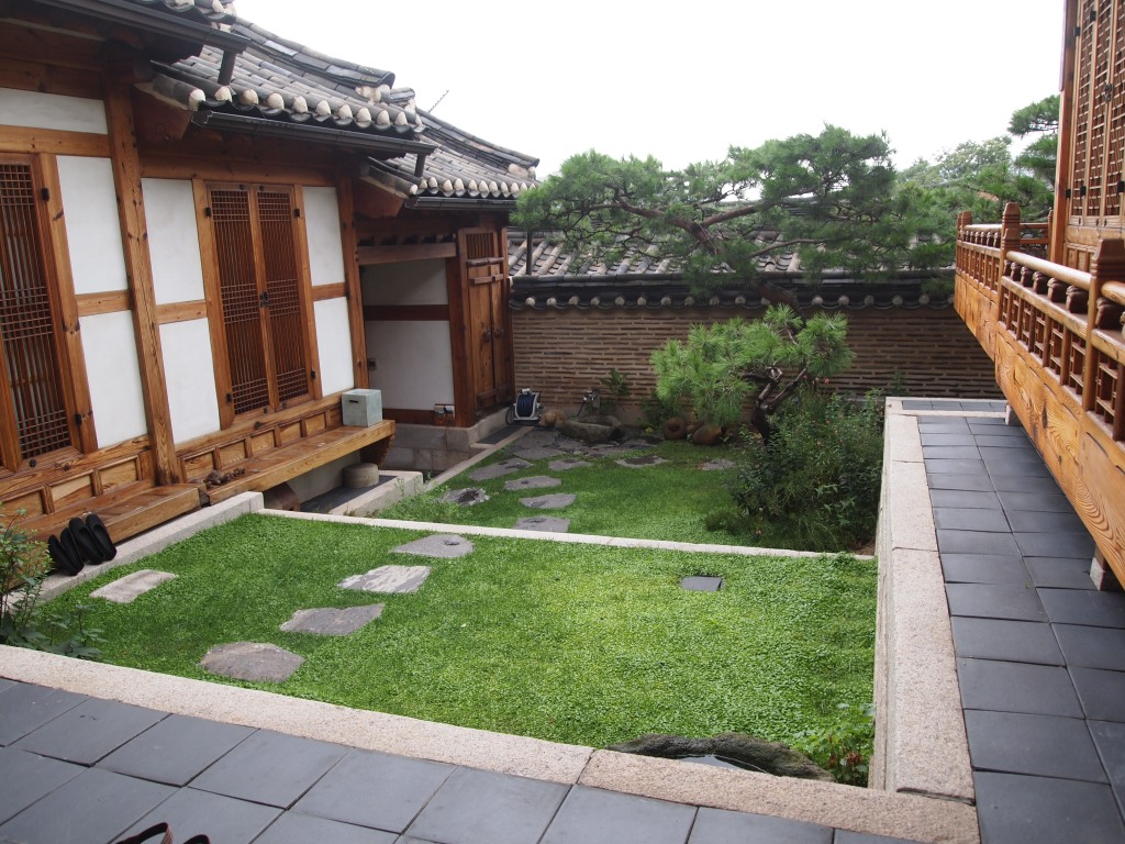 We were able to tour this one - the inner courtyard
