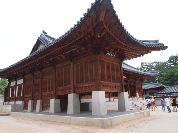 Jangandang - built in 1873 by King Gojong, this building was his quarters