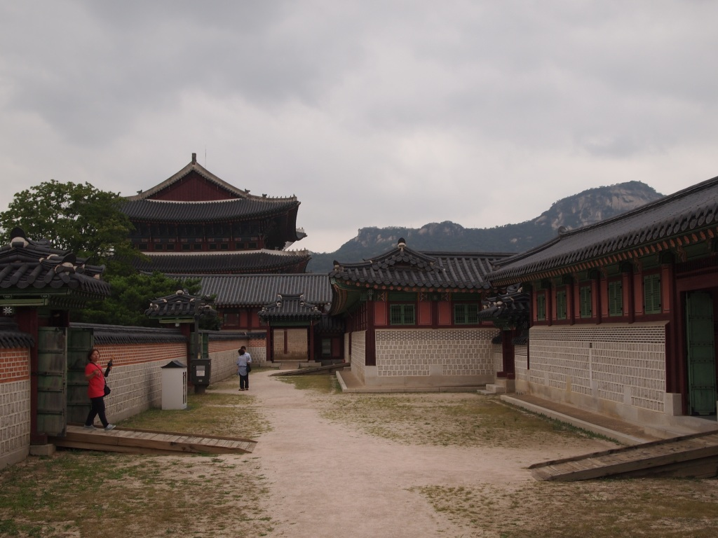 Part of the Crown Prince's compound - Dong-gung