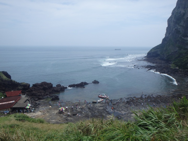 The cove where the haenyeo dive