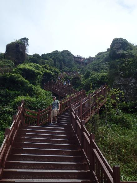 Very steep!