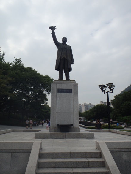 Statue of Seo Jae-pil