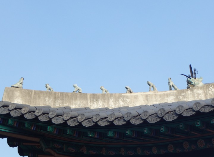 Japsang - these animal statues guard palaces against evil spirits