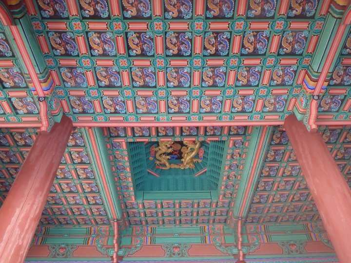 I just love the ceilings