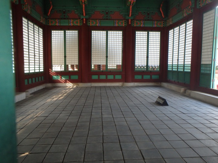 Interior of Jajeongjeon