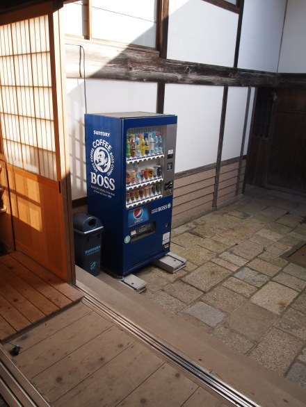 These vending machines are everywhere, even temples apparently