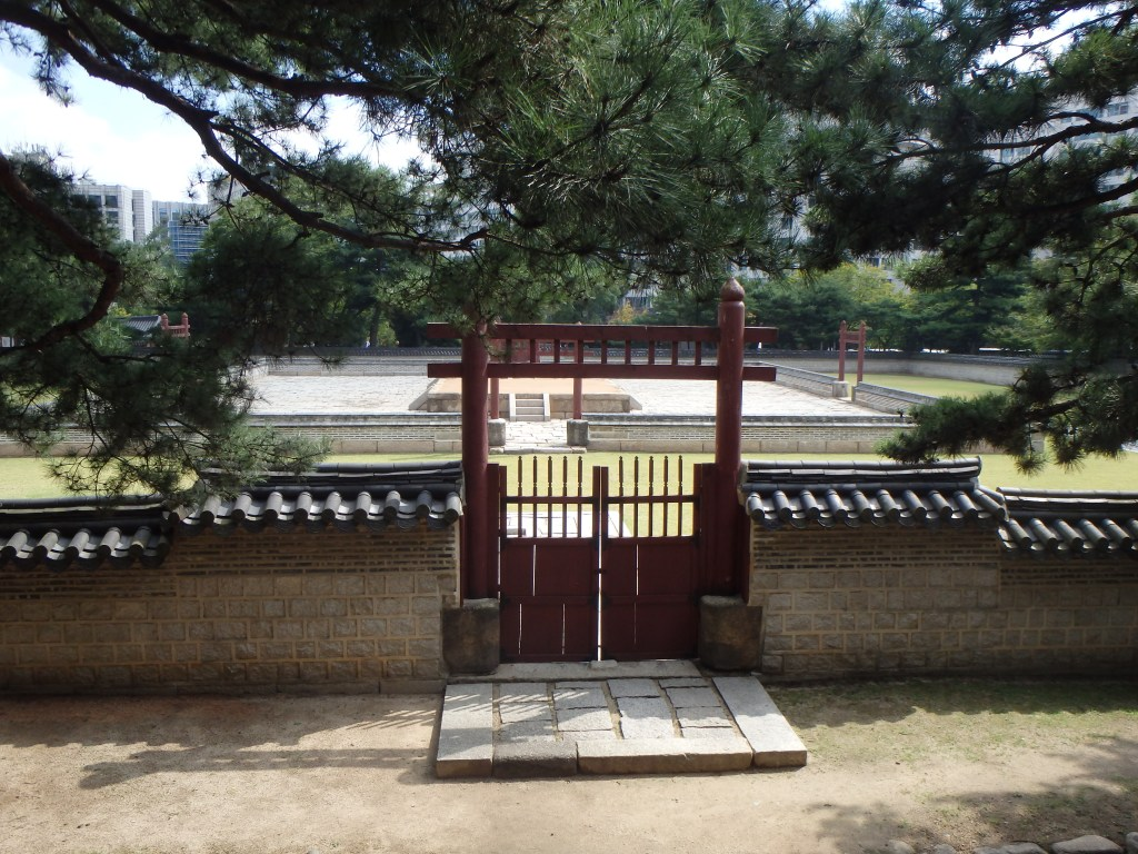 A higher view from Seosinmun Gate