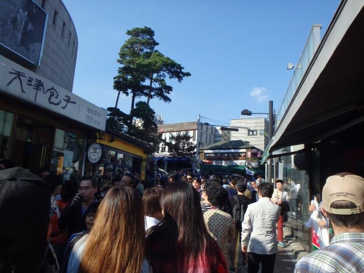 verrrry crowded street