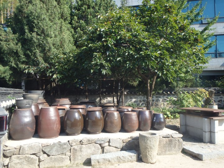 Onggi - these were (and still are) used for storing and fermenting food